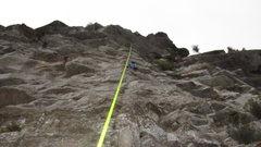 Rock Climbing Photo: E Torre, 'Pilleur de tombes' 5c+