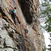 Rock Climbing Photo: Climbing Jasper, Arkansas