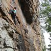 Climbing Jasper, Arkansas<br>