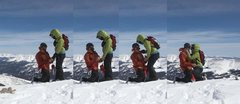 Rock Climbing Photo: Mt. Lincoln Colorado at 14,295 ft March 14th, 2013...