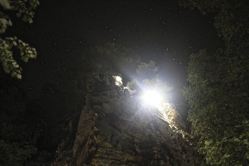 Starry night climbs