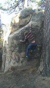 Rock Climbing Photo: Kyle Hicks warming up on Red Sea