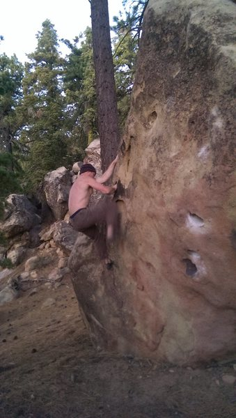 Rock Climbing Photo: Hueco solution.. solved