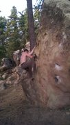 Rock Climbing Photo: Hueco solution.. solved
