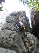 Rock Climbing Photo: Climbing new routes in TN