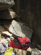 naptime at the crag