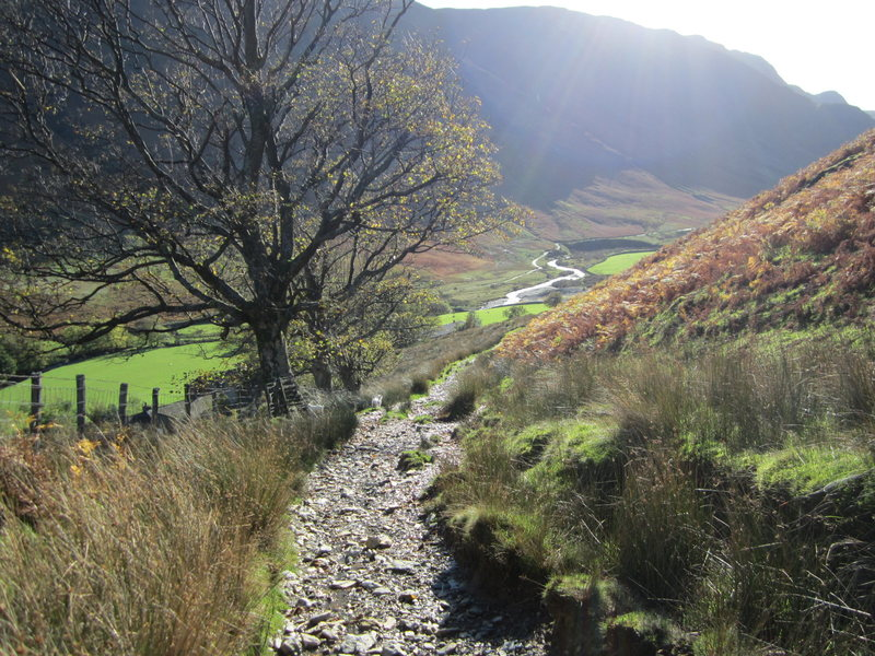 Rock Climbing Photo: Newlands Valley Views