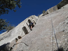 Rock Climbing Photo: 3 star crack