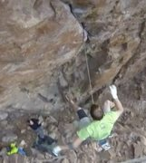 Rock Climbing Photo: from yr video at the moment of the pulled cam catc...
