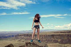 Rock Climbing Photo: The views here are amazing