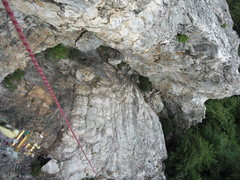 Rock Climbing Photo: The climbs come out from the left side of the phot...