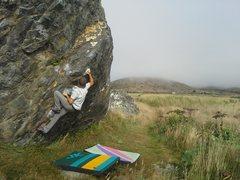 Rock Climbing Photo: Hard Up/Goat Rock/Sonoma County, CA