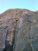 Rock Climbing Photo: Bolt line