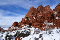Rock Climbing Photo: The Observatory in Winter
