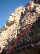 Rock Climbing Photo: Baby Toes