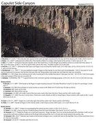 Rock Climbing Photo: Side canyon routes.