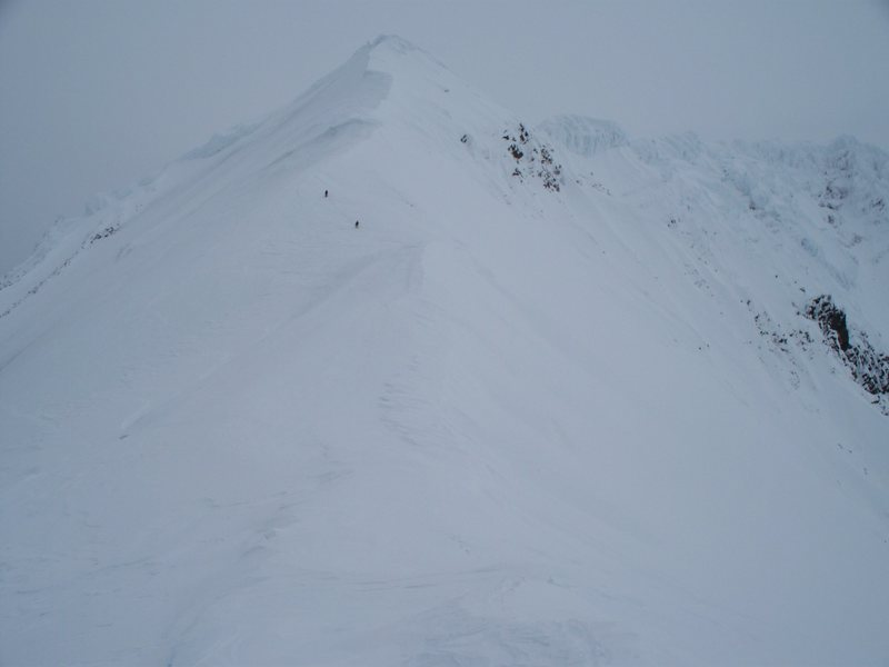 South West Ridge.