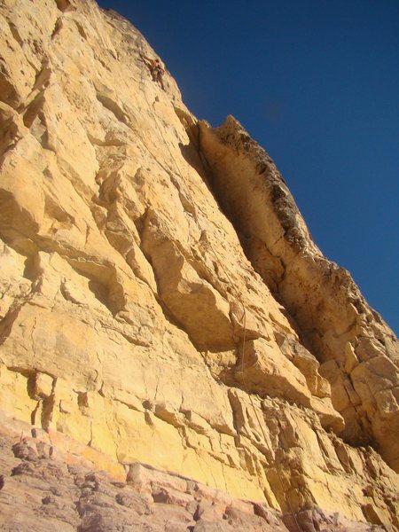 Rock Climbing Photo: High Times, 5.12a