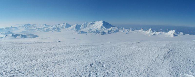 Rock Climbing Photo: The backbone of the Wrangell Mountains. Photo take...