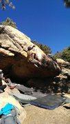 Rock Climbing Photo: Bump