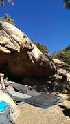 Rock Climbing Photo: Top it out