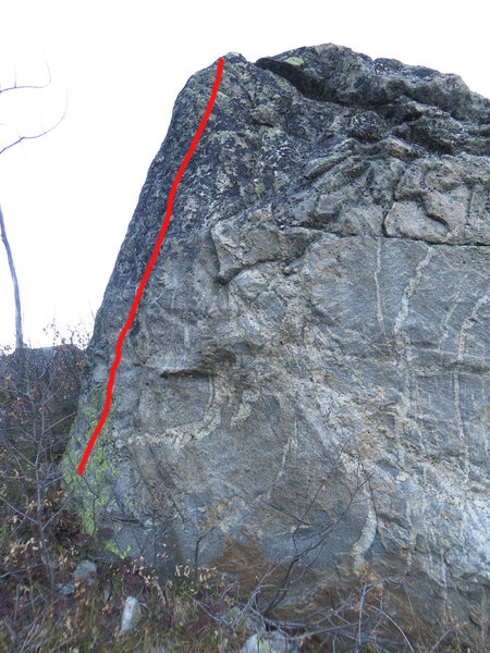 Rock Climbing Photo: project?