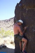 Rock Climbing Photo: Bouldering near fossil falls