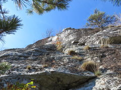 Rock Climbing Photo: Is it just me or does the crux at the top of P3 re...