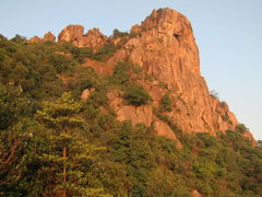 Rock Climbing Photo: Route follows the arete on the right side of pictu...