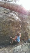 Rock Climbing Photo: Kyle Hicks squaring up