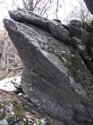 """Rock Climbing Photo: Bombora, right side. This is """"Wild Side"""""""