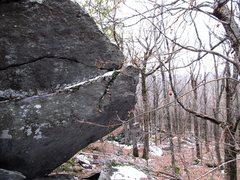 "Rock Climbing Photo: To start ""Edges to Ledges"" sit start to ..."
