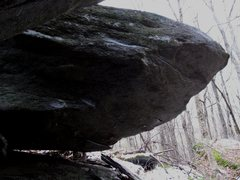 Rock Climbing Photo: Oz Roof: Dorothy sit starts matched at the base of...