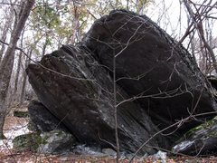 Rock Climbing Photo: Thunder Boulder