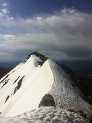 Rock Climbing Photo: N/S Arapahoe traverse in spring conditions.