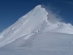 Rock Climbing Photo: Ahtna Peak from the col at 12,000ft. You can see t...