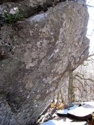 Rock Climbing Photo: The low left crimpy feature is the sit start for S...