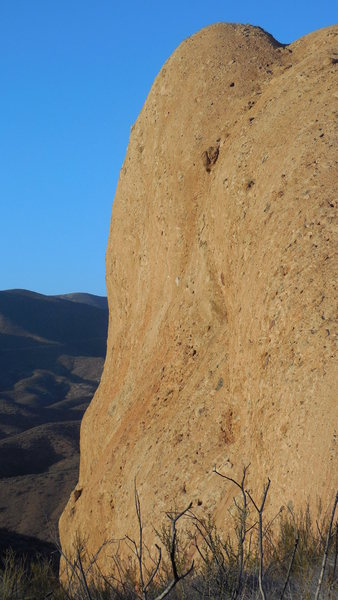 Rock Climbing Photo: The south face of the Temple of Ishtar in profile.