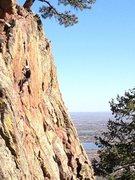 Rock Climbing Photo: Gino.