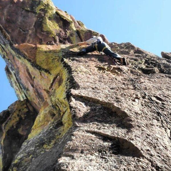 Rock Climbing Photo: Sex.