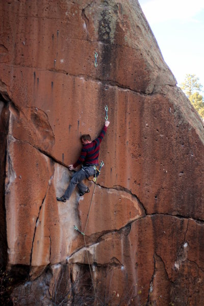 Rock Climbing Photo: Ian with special concern for women and children on...