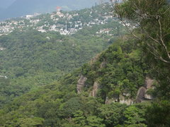 Rock Climbing Photo: From a nearby hilltop looking north, burial chambe...