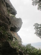 Rock Climbing Photo: The Overhang Wall