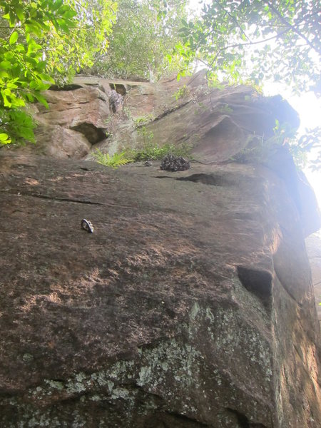 A dirty bolted arete