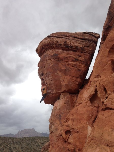 Rock Climbing Photo: side effects in red rocks