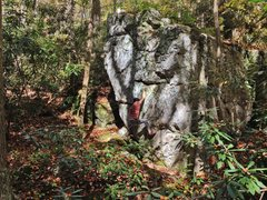 Rock Climbing Photo: Near the start