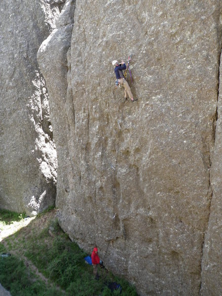 Rock Climbing Photo: Terveen hooks and handrills