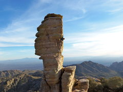 Rock Climbing Photo: Cool pinnacle
