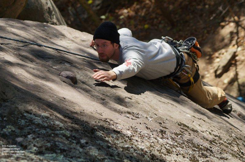 Rock Climbing Photo: Almost got it!