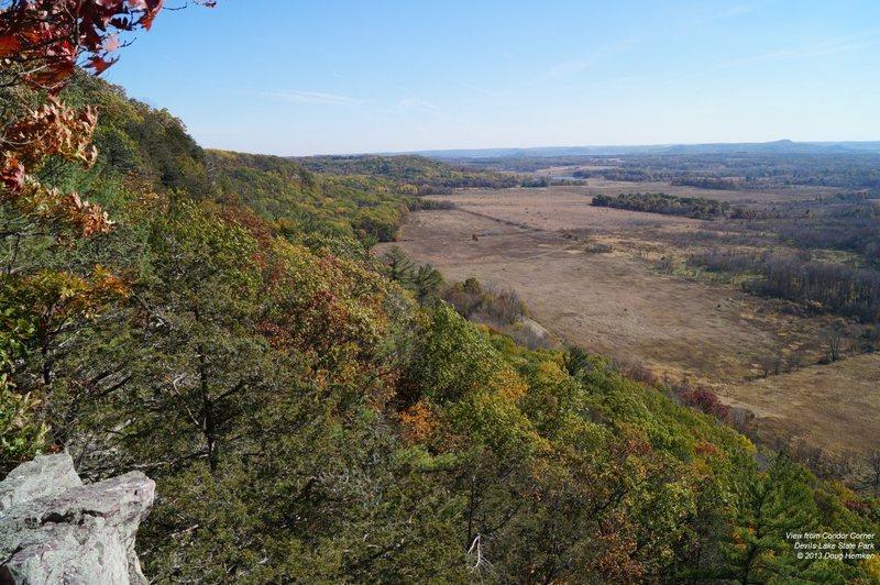 Rock Climbing Photo: Autumn view from Condor Corner